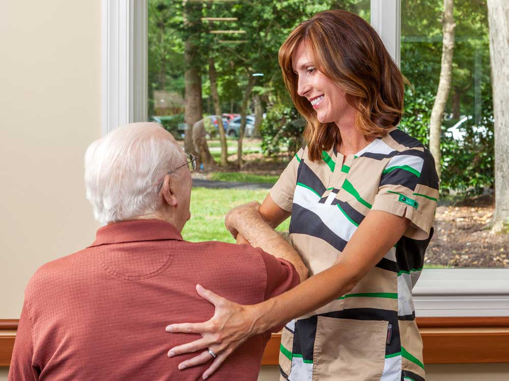 Our residents receive excellent physical thereapy