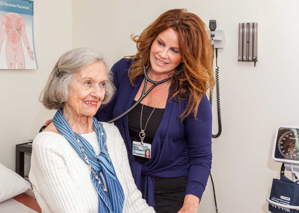 Our residents receive excellent health care