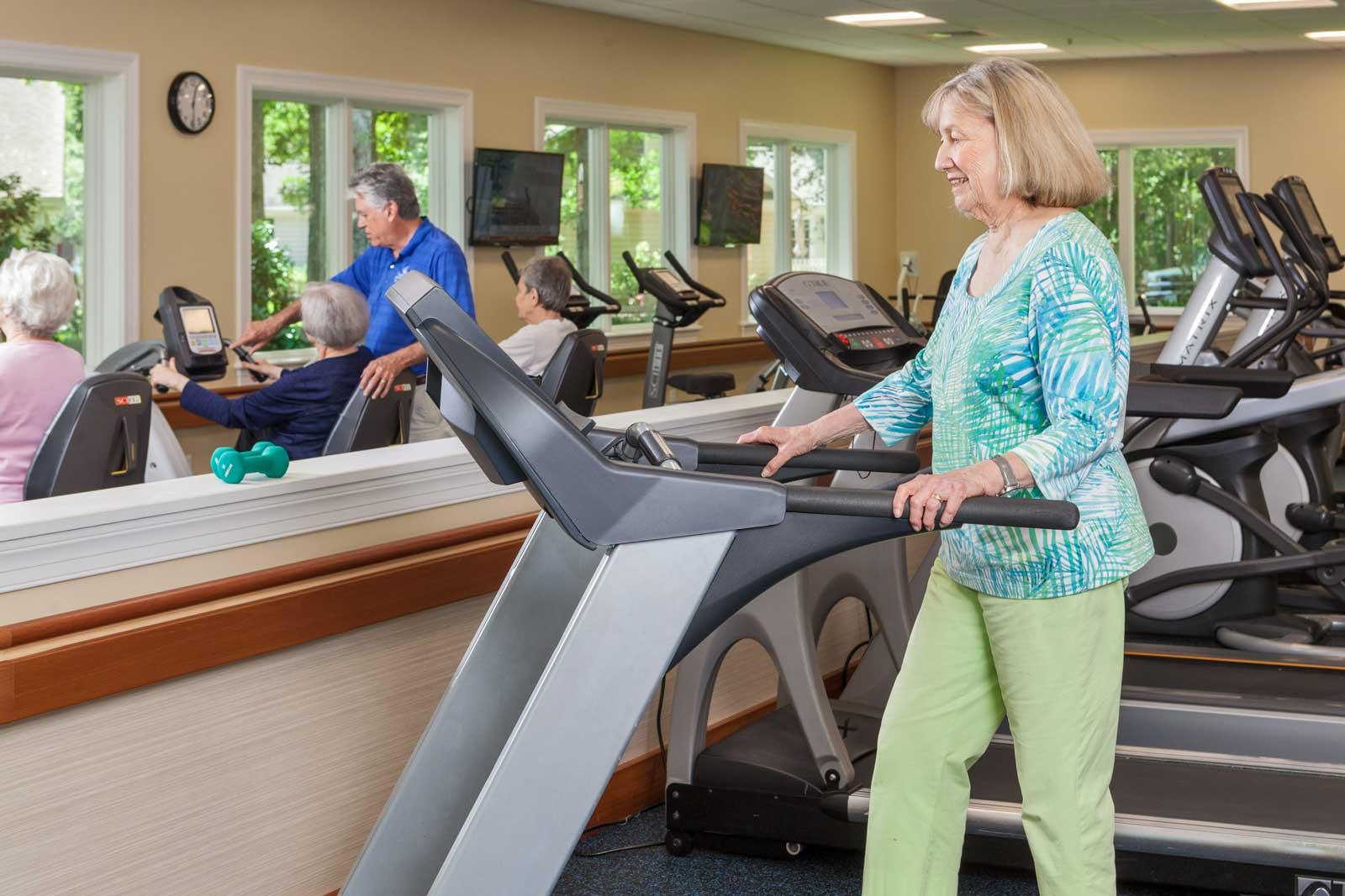 woman-uses-treadmill